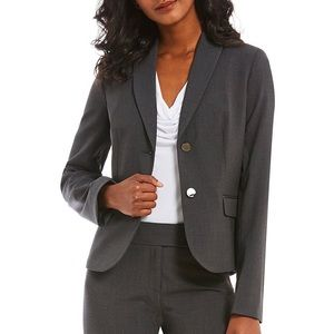 GO GRL 🔥 CK charcoal women's fit blazer